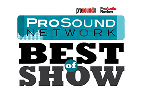 Pro Sound Network Best Show Award