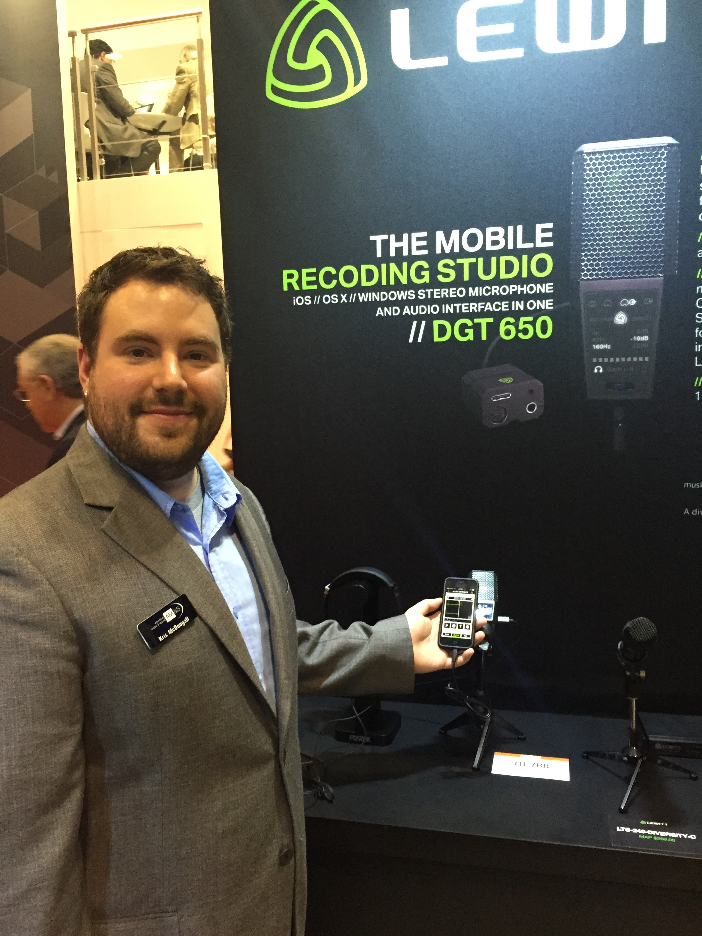 Kris McDougall at InfoComm 2015