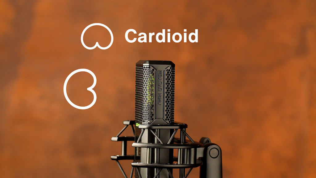 Cardioid on the front diaphragm