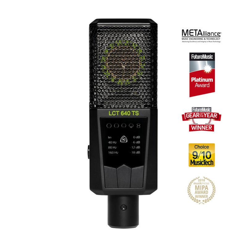 LCT 640 TS multi-pattern microphone
