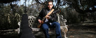 Albert Castiglia uses the MTP 550 DM reference vocal stage mic [Photo © Austin Brt]