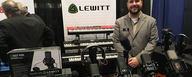 LEWITT Booth at AES convention