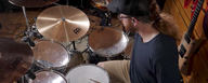 Spectre Sound recording with the DTP Beat Kit Pro 7 drum microphones by LEWITT