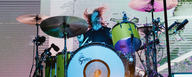 Aaron Gillespie uses LEWITT reference condenser microphones [Photo © Dan Newman]