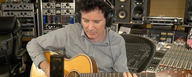 Warren Huart records acoustic guitar with the LCT 240 PRO microphone